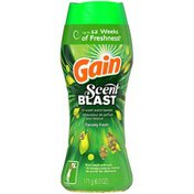 Gain , Scent Blast, In-Wash Scent Booster Beads, Fiercely Fresh