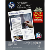 HP Paper, Everyday Copy & Print, 20 lb