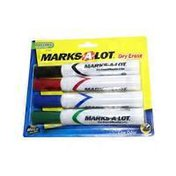 Mark-A-Lot Dry Erase Markers