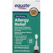 Equate Allergy Relief, Non-Drowsy, Sprays