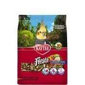 Kaytee Gourmet Variety Diet with DHA, Omega-3 & Probiotics Plus Fun Variety Mix Fiesta Cockatiel Food