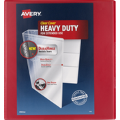 Avery Binder Clear Cover Durable