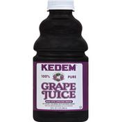 Kedem Juice, 100% Pure, Grape