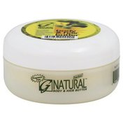 G Natural Butter, Hair & Body, Herbal, Jar