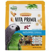 Sunseed Wholesome Nutrition Safflower Formula Medium & Large Parrot Food