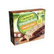 Meijer peanut butter CRUNCHY Granola Bars