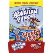 Hawaiian Punch Drink Mix, Sugar Free, Lemon Berry Squeeze