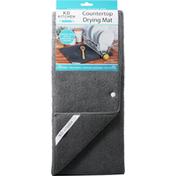 KD Kitchen Drying Mat, Countertop, Graphite