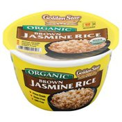 Golden Star Jasmine Rice, Organic, Brown