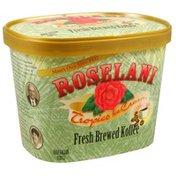 Roselani Tropics Ice Cream, Fresh Brewed Koffee