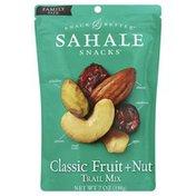 Sahale Snacks Trail Mix, Classic Fruit & Nut, Family Size