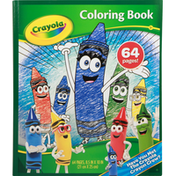 Crayola Coloring Book, 64 Pages