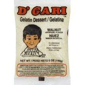 D'Gari Gelatin Dessert, Walnut