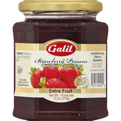 Galil Strawberry Preserve, Extra Fruit