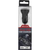 Vibrant Car Charger, Dual USB, Box
