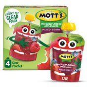 Mott's No Sugar Added Mixed Berry Applesauce