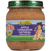 Earth's Best Stage 3 Chunky Blend Apple Cinnamon Oatmeal Organic Baby Food