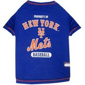 Pets First Extra Small New York Mets Dog Tee Shirt