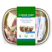 Home Chef Turkey Tinga Tacos With Sour Cream & Crispy Jalapenos Oven Kit
