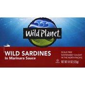 Wild Planet Wild Sardines, in Marinara Sauce