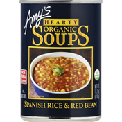 Amy's Kitchen Organic Hearty Spanish Rice and Red Bean Soup