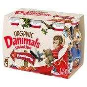 Danimals Organic Strawberry Explosion Smoothies