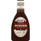 Kraft Barbecue Sauce, Chargrilled Burger