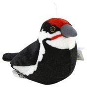 Wild Republic Stuffed Toy, Pleated Woodpecker