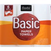 Essential Everyday Paper Towels, Multi-Size, 2 Ply