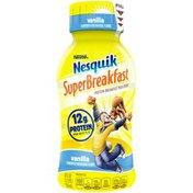Nestle Nesquik Protein Breakfast Vanilla  NESQUIK SUPERBREAKFAST Protein Breakfast Milk Drink