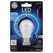 GE Light Bulb, LED, Ceiling Fan, Soft White, 6.5 Watts