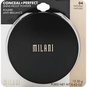 Milani Shine-Proof Powder, Natural 04