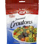 IGA Croutons, Seasoned