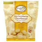 Simply Shari's Cookies, Bite Size, Gluten Free & Wheat Free, Shortbread
