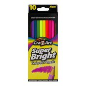 Cra-Z-Art Super Bright Colored Pencils - 10 CT