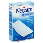 Nexcare Bandages, Sensitive Skin, Knee & Elbow