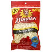 Borden Shredded Cheese, Pepper Jack