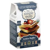 Kims Simple Meals Golden Waffles, Box