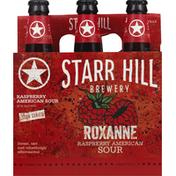 Starr Hill Beer, Raspberry American Sour, Roxanne