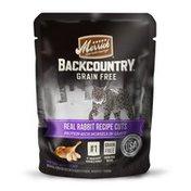 Merrick Grain Free Backcountry Real Rabbit Recipe Cuts