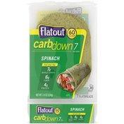 Flatout CarbDown Spinach Flatbreads