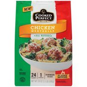 Cooked Perfect Chicken Meatballs