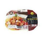 King's Cook Spaghetti With Seafood & Tomato Sauce