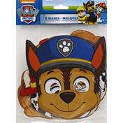 Unique Masks, Paw Patrol, 4 Assorted Styles