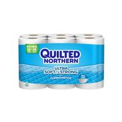 Quilted Northern Ultra Soft & Strong® Toilet Paper, 12 Double Brick, Bath Tissue