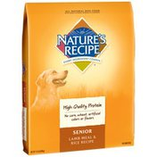 Nature's Recipe Senior Lamb Meal & Rice Recipe Dog Food