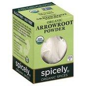 Spicely Organics Arrowroot Powder, Organic