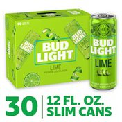 Bud Light Lime Beer Cans