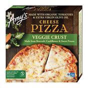 Amy's Kitchen Cheese Frozen Pizza, Veggie Crust
