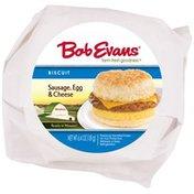 Bob Evans Sausage, Egg & Cheese Biscuit Bob Evans Sausage, Egg & Cheese Biscuit